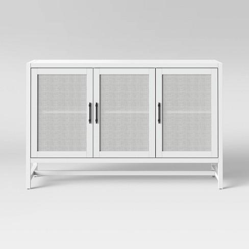 """50"""" Warwick 3 Door Accent Media Cabinet - Threshold™ - image 1 of 4"""