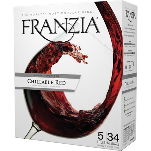 Franzia Chillable Red Blend Wine - 5L Box - image 1 of 3