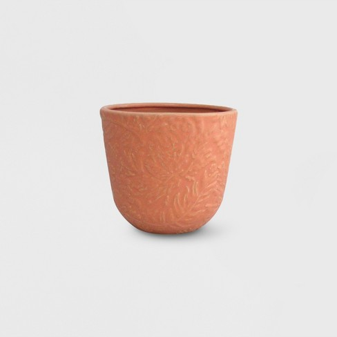"""7"""" Novelty Textured Planter Peach - Opalhouse™ - image 1 of 4"""