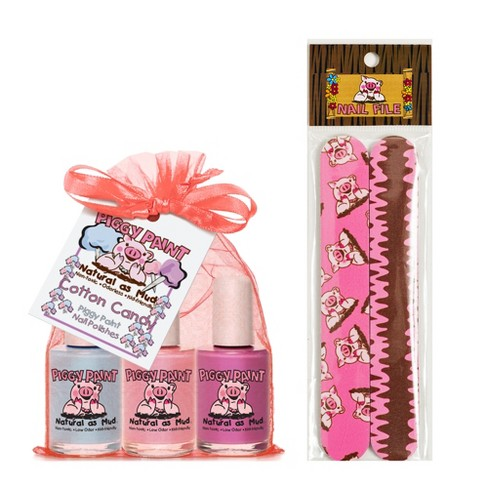 Piggy Paint Non-Toxic Nail Polish With Nail File Set : Target