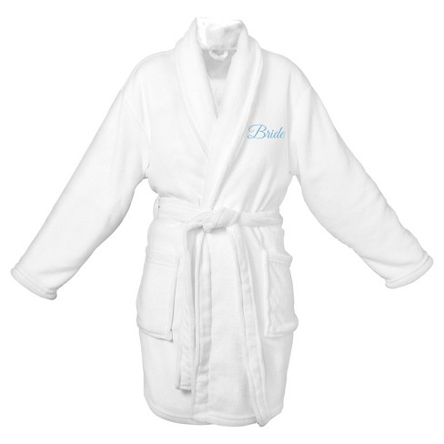 Women's Bride Plush Robe - One Size - image 1 of 2