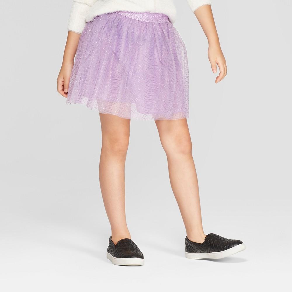 Girls' Tulle Tutu Skirt - Cat & Jack Purple L