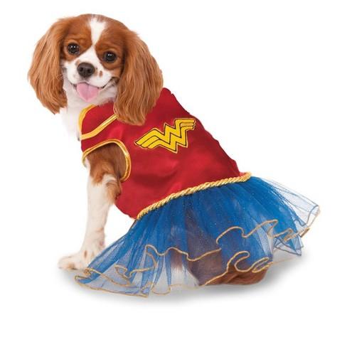 DC Comics Wonder Woman Tutu Dress Pet Costume - image 1 of 1