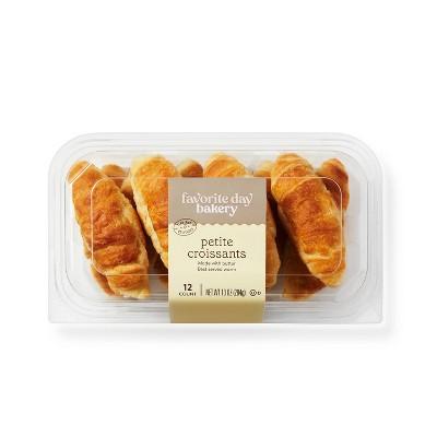 Petite Butter Croissants - 10oz/12ct - Favorite Day™