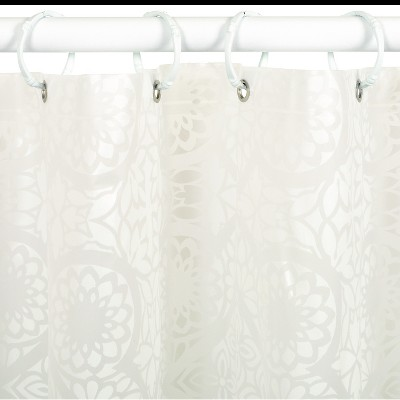 Exceptionnel Morocco PEVA Geometric Shower Curtain   India Ink®