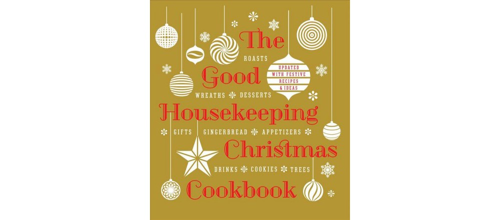 Sterling The Good Housekeeping Christmas Cookbook Hardcover