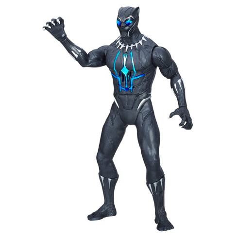 Marvel Black Panther Slash & Strike Black Panther Figure - image 1 of 8