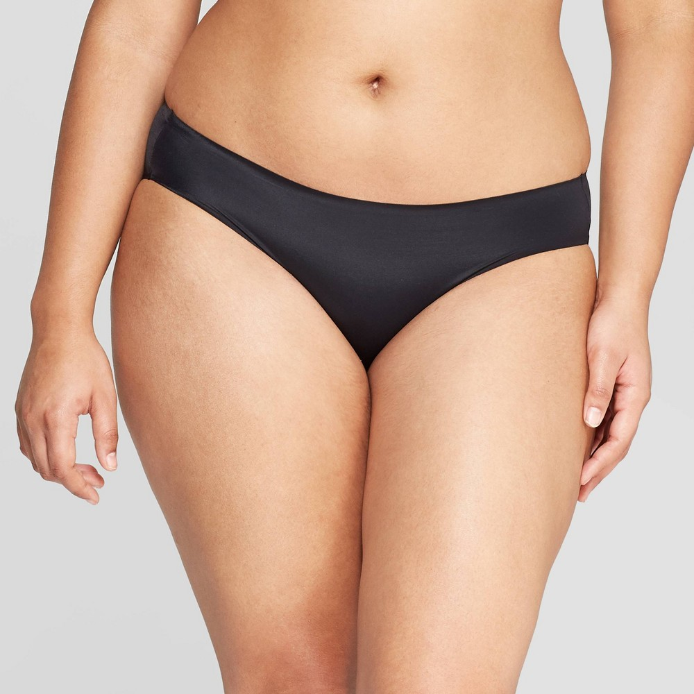 Womens Bonded Micro Bikini Underwear - Auden Black XS Best