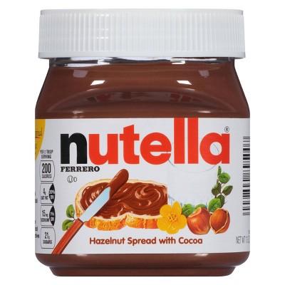 Peanut & Nut Butters: Nutella