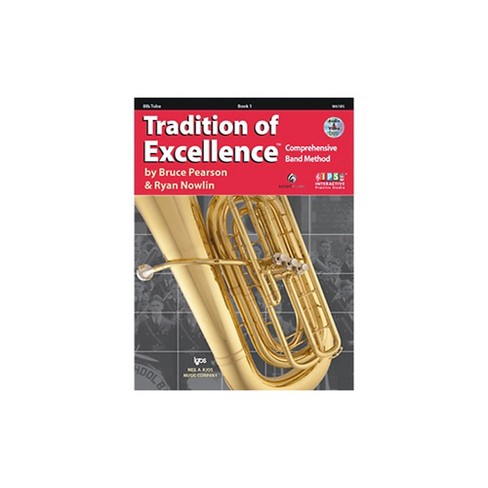 KJOS Tradition Of Excellence Book 1 for Tuba - image 1 of 2