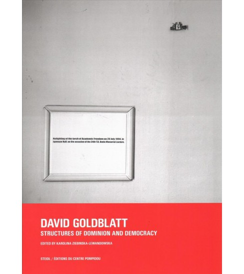 David Goldblatt : Structures of Dominion and Democracy -  (Hardcover) - image 1 of 1