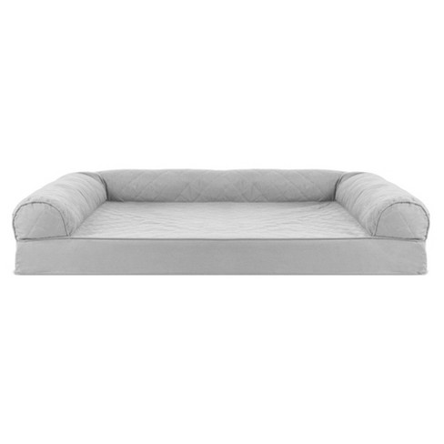 Swell Furhaven Cooling Gel Memory Foam Sofa Style Couch Dog Bed Silver Gray Jumbo Ibusinesslaw Wood Chair Design Ideas Ibusinesslaworg