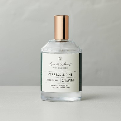 2.7 fl oz Cypress & Pine Seasonal Room Refresher Spray - Hearth & Hand™ with Magnolia