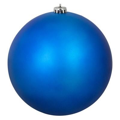 Northlight Matte Lavish Blue Commercial Shatterproof Christmas Ball Ornament 8 200mm Target