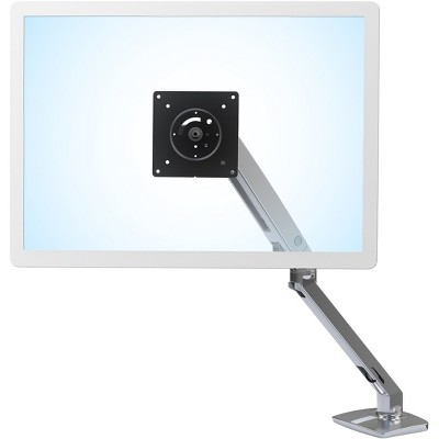 """Ergotron MXV Desk Monitor Arm Adjustable Up to 35"""" Polished Aluminum 45-486-026"""