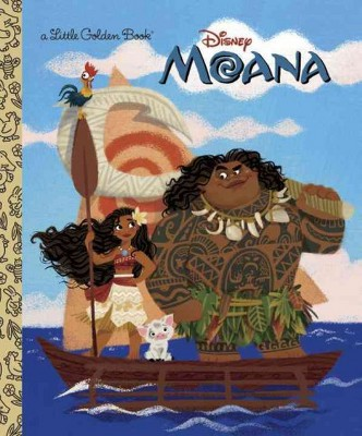 Moana - Little Golden Book