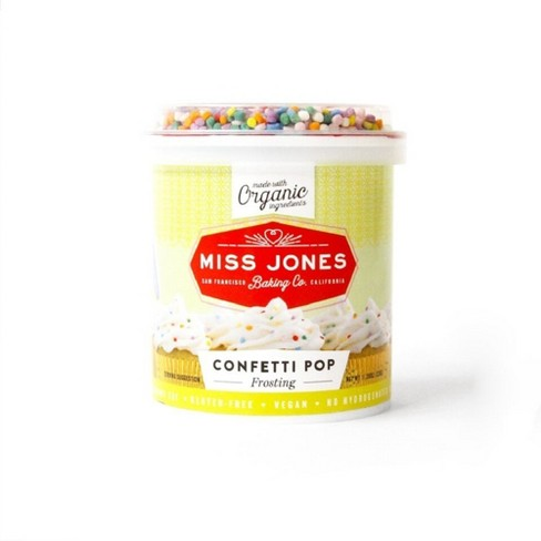 Miss Jones Confetti Pop Frosting - 13.92oz - image 1 of 1
