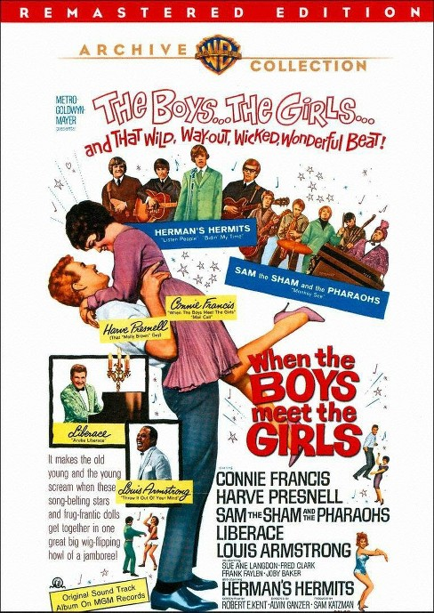 When the boys meet the girls (DVD) - image 1 of 1