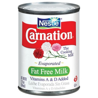 Canned & Powdered Milk: Carnation Fat Free Evaporated Milk
