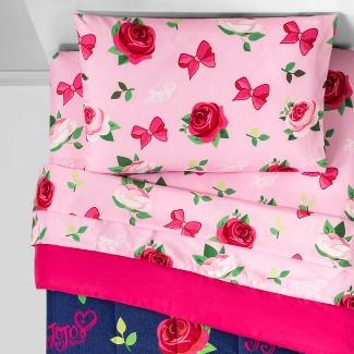 JoJo Siwa Full Roses And Bows Bedding Set Blue