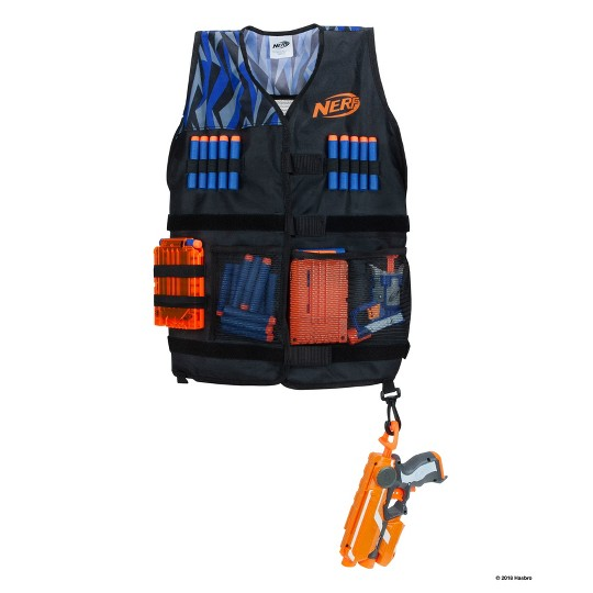 NERF Elite Tactical Vest, toy blasters image number null