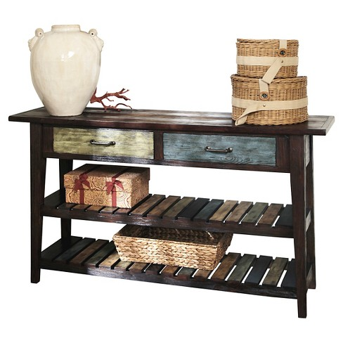 Mestler Sofa Table Rustic Brown - Signature Design by Ashley