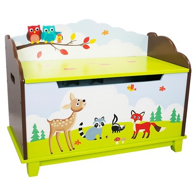 Enchanted Woodland Toy Chest Wood - Teamson