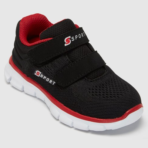 Toddler Boys' S Sport By Skechers Vick Athletic Shoes - Black 6 - image 1 of 4