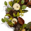 Northlight Pumpkin, Pinecone, and Gourd Grapevine Artificial Thanksgiving Wreath - 24-Inch, Unlit - image 3 of 3