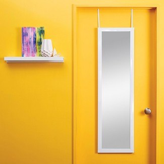 Rectangle Over the Door Mirror White - Room Essentials™