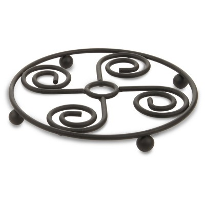 Spectrum Scroll Trivet - Black - Spectrum Diversified Designs