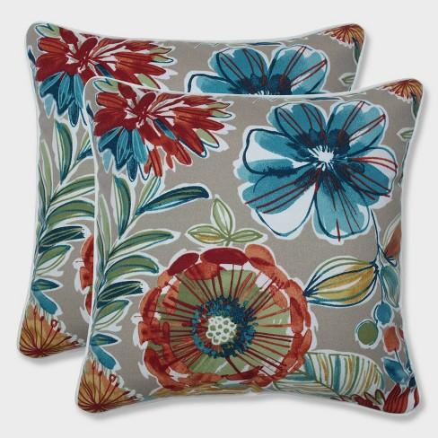 """16.5"""" 2pk Colsen Sonoma Throw Pillows Beige - Pillow Perfect - image 1 of 2"""