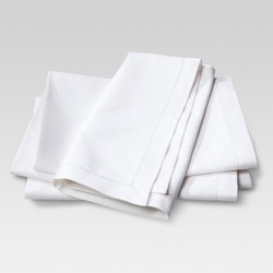 Set of 4 Cotton Napkins Cream - Threshold™