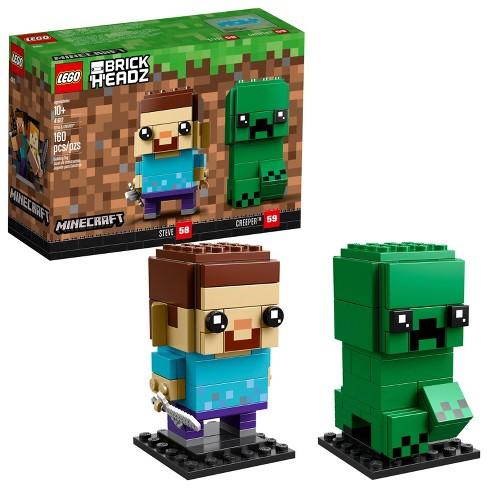 lego brickheadz minecraft steve creeper 41612 target