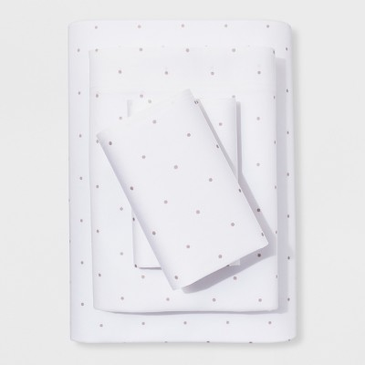 King Sheet Set Tahoe Khaki Simple Dot (ETA)- Project 62™ + Nate Berkus™
