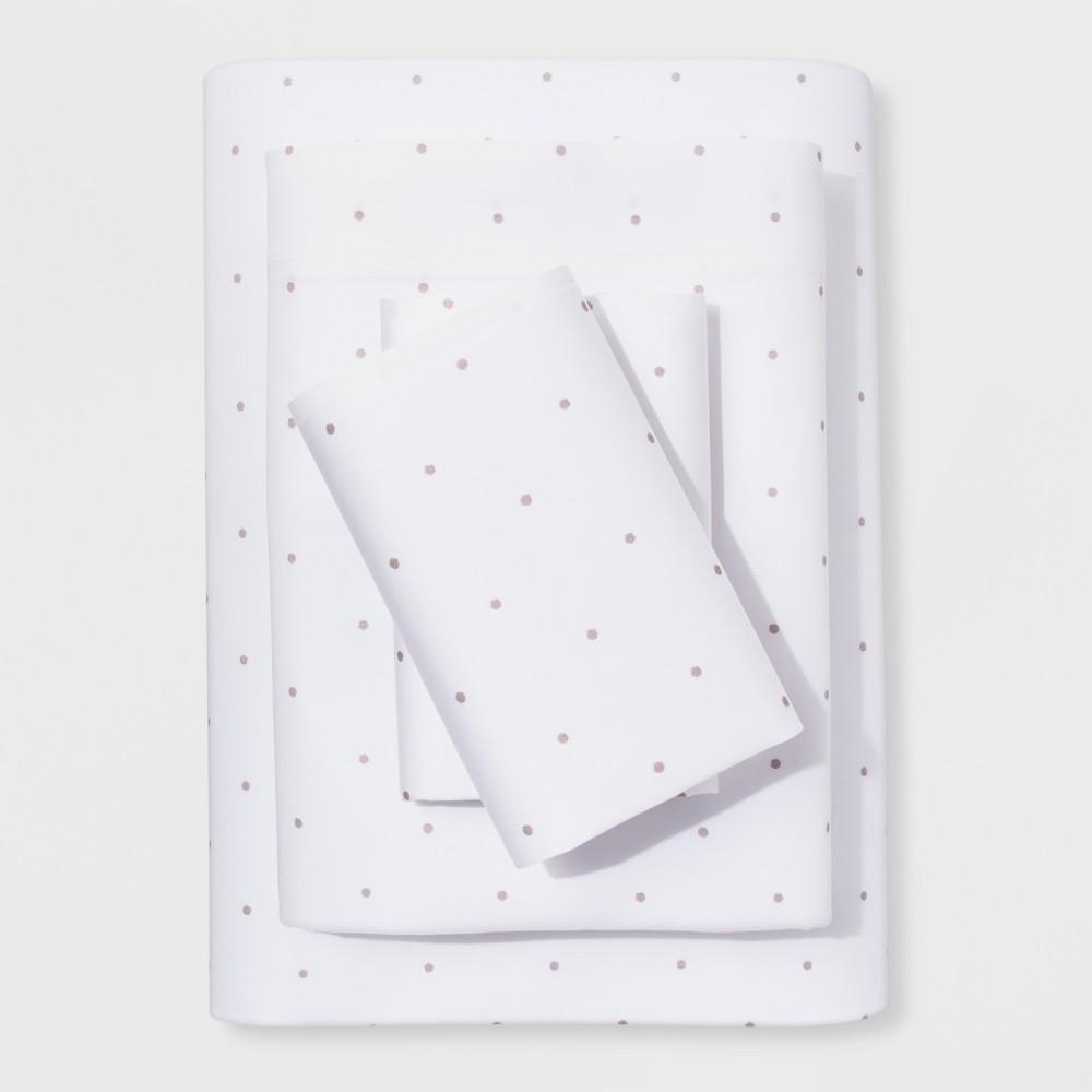 Twin Sheet Set Tahoe Khaki Simple Dot (ETA) - Project 62 + Nate Berkus was $27.99 now $19.59 (30.0% off)