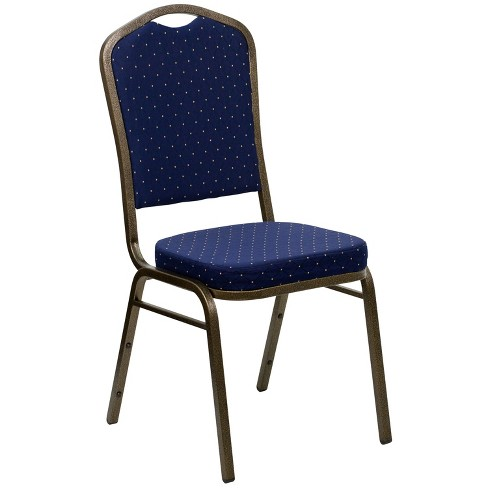 Riverstone Furniture Collection Fabric Banquet Chair Navy Blue - image 1 of 4