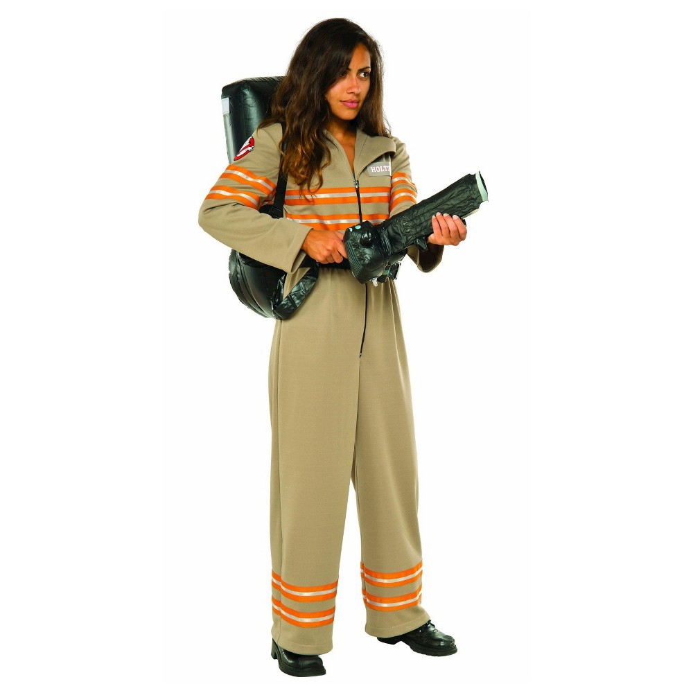 Ghostbusters Movie: Ghostbuster Women's Deluxe Costume - Small, Multicolored