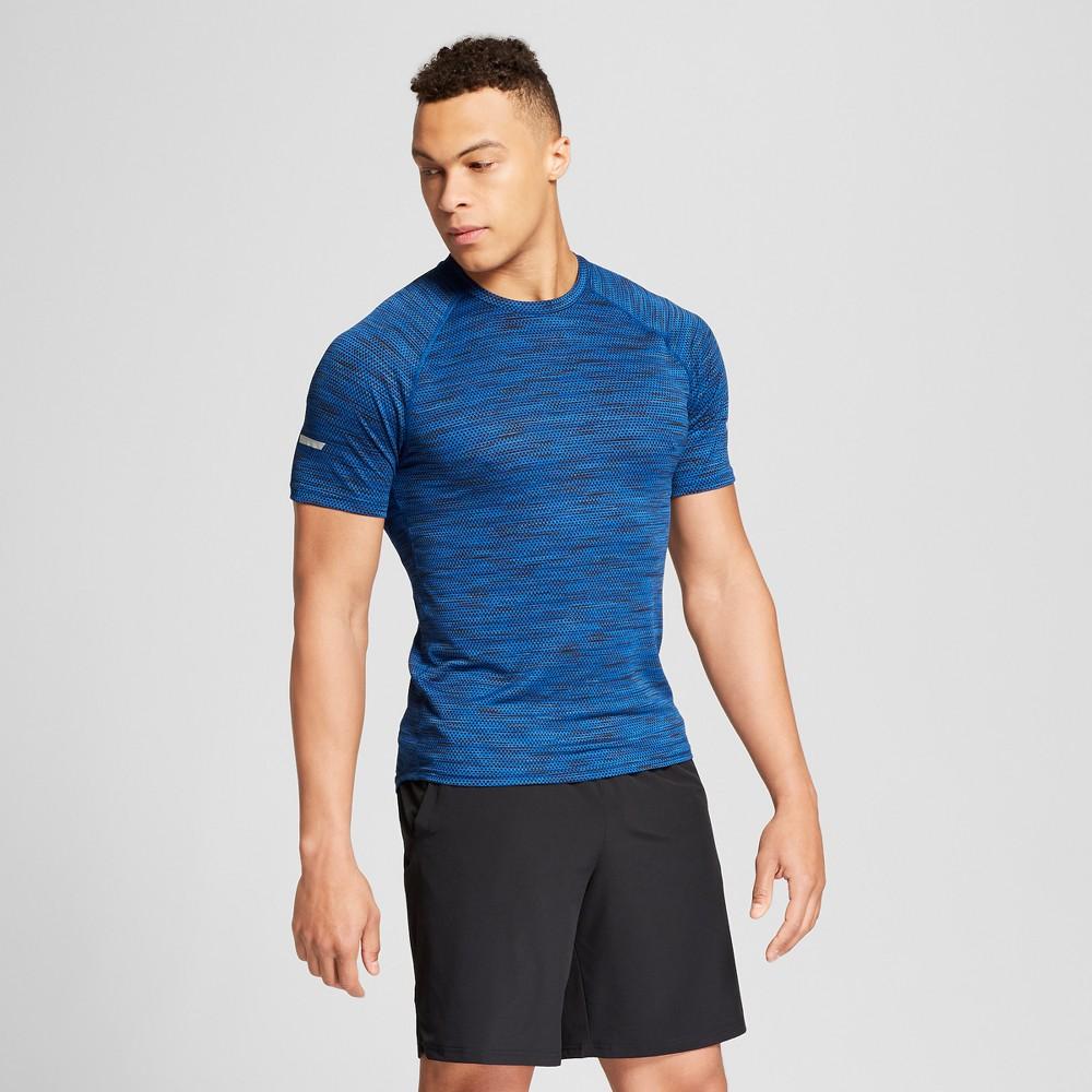 Men's Running Jacquard T-shirt - C9 Champion Winter River Teal Heather Xxl