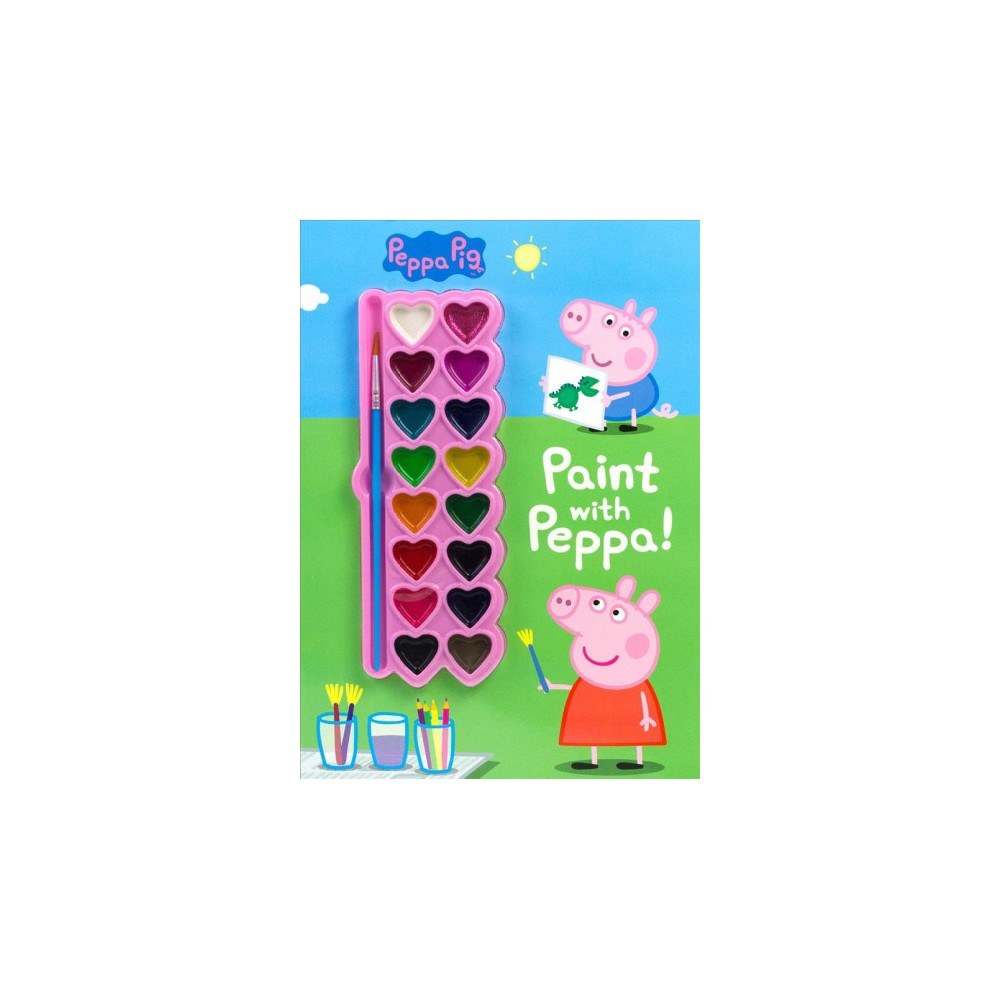 Paint With Peppa! (Paperback)
