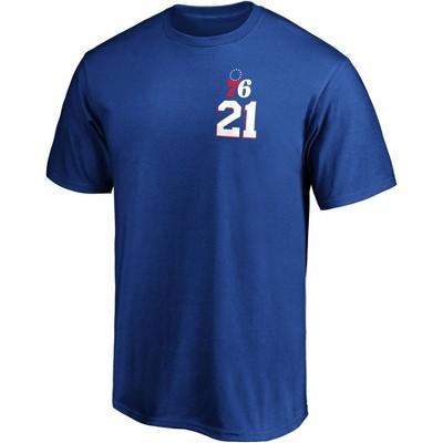 NBA Philadelphia 76ers Men's Short Sleeve T-Shirt