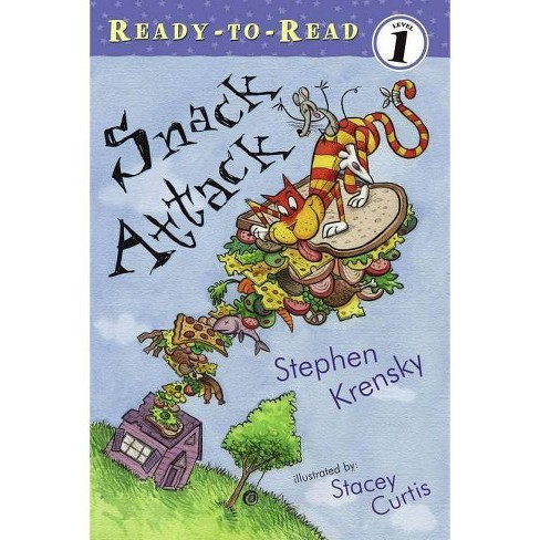 Snack Attack - (Ready-To-Read - Level 1 (Quality)) by  Stephen Krensky (Paperback) - image 1 of 1