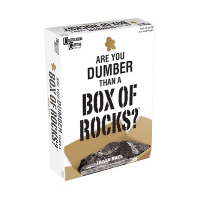 Are You Dumber than a Box of Rocks? Game