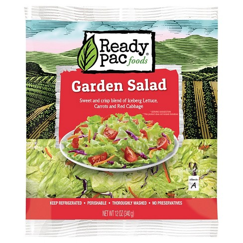 Ready Pac Foods Garden Salad Kit - 12oz - image 1 of 1