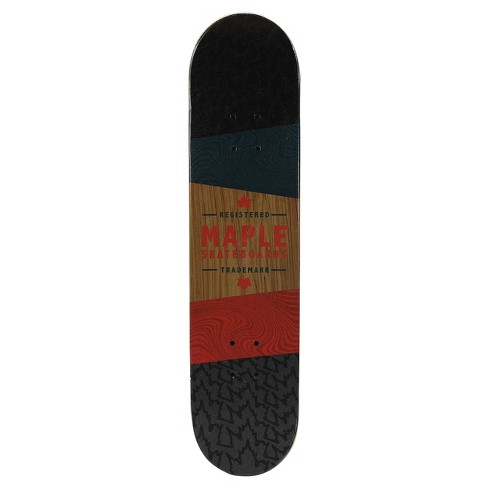 "Maple Masters 31"" Skateboard ""Free Ride"" - Black/Red - image 1 of 2"