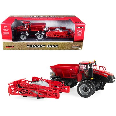 """Case IH Trident 5550 Combination Applicator Red """"Prestige Collection"""" Series 1/64 Diecast Models by ERTL TOMY"""