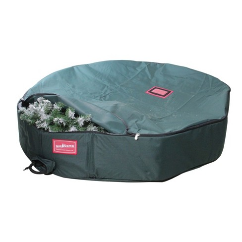 """Tree Keeper 48"""" Christmas Wreath Direct Suspended Hanging Protective Storage Bag - image 1 of 2"""