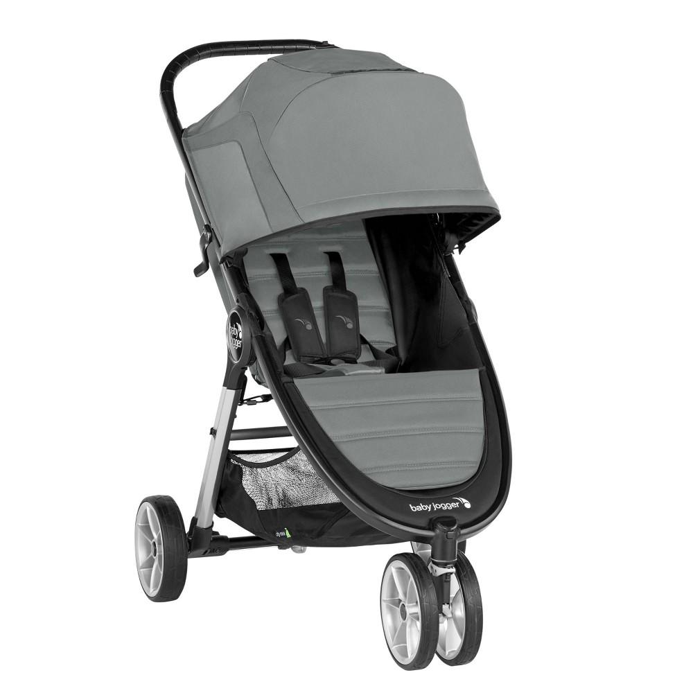 Image of Baby Jogger City Mini 2 Single Stroller - Slate, Grey