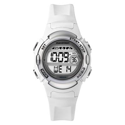 Women's Timex Marathon Digital Watch - White TW5M15100TG