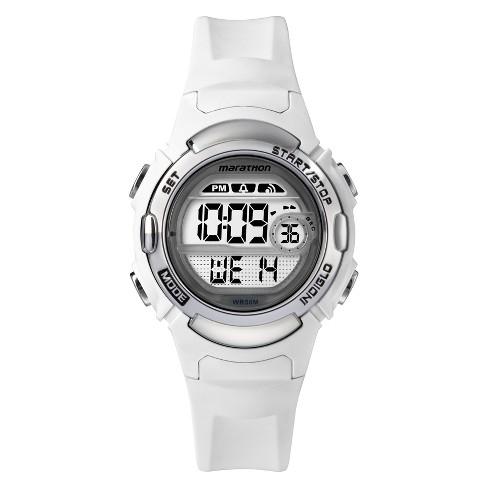 Women's Timex Marathon Digital Watch - White TW5M15100TG - image 1 of 3